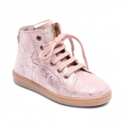 "Chaussures Bisgaard ""Shoes with laces"" Nude"