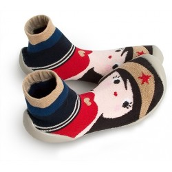 "Chaussons ""Wonder Woman"" - Made in France"