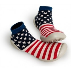 "Chaussons Rockwell ""Captain America"" - Made in France"