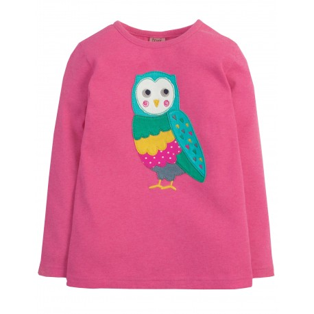"T-shirt ""Flamingo / Barn Owl"" - coton bio"