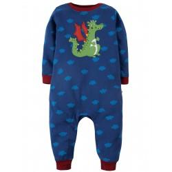 "Pyjama bébé ""Westward Wind, Dragon"" - coton bio"
