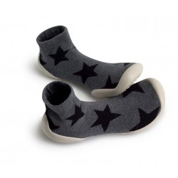 "Chaussons Nununu ""Stars"" - Made in France"