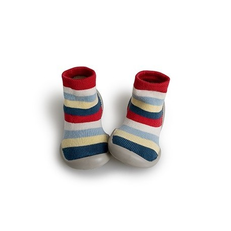 """Chaussons Transat """"Rayas"""" - Made in France"""