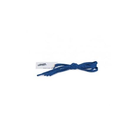 """Lacets plats brillants 110 cm """"Bleu éclatant"""" - Made in France"""
