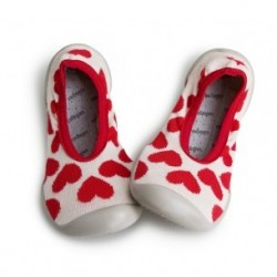 "Chaussons ballerines ""We Love U - Just in Love"" - Made in France"