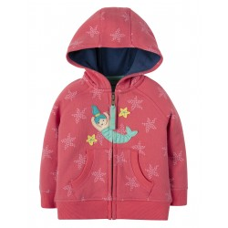 "Sweat bébé ""Hayle Hoody, Coral Starfish Spot Mermaid"" - coton bio"