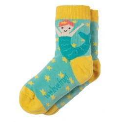 "Chaussettes ""Perfect Pair Socks, St Agnes Mermaid"" - coton bio"