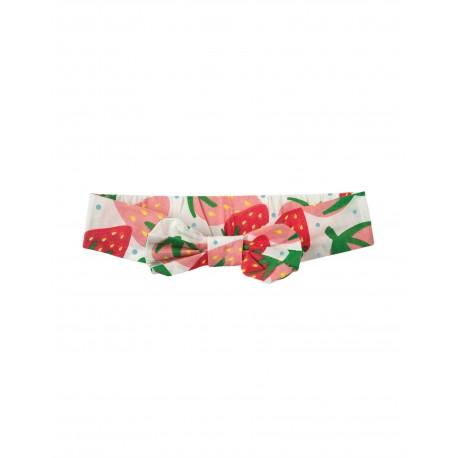"Bandeau ""Hazel Headband, Scilly Strawberries"" - coton bio"
