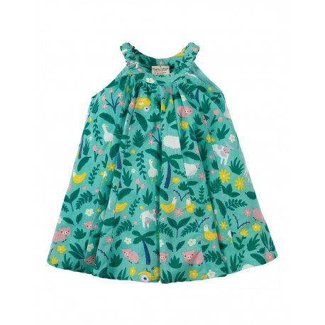 "Robe ""Little Tabitha Trapeze Dress, St Agnes Farm Floral"" - coton bio"