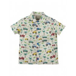 "Chemise enfant ""Harvey Hawaiian Shirt, Tropical Tresco"" - coton bio"
