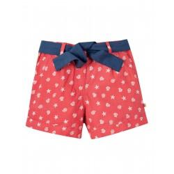 """Short enfant """"Seren Shorts, Coral Shell Polka"""" - coton bio"""