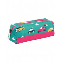 "Plumier ""Crafty Pencil Case, Aqua Rainbow Roads"" - polyester recyclé"