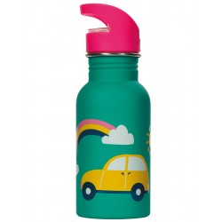 "Gourde ""Splish Splash Steel Bottle, Aqua Rainbow Roads"""