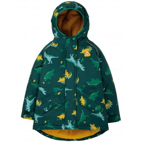 """Veste """"Explorer Waterproof Coat, Giant Dino Field"""" - polyester recyclé"""