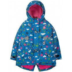 "Veste ""Explorer Waterproof Coat, Sail Blue Fly High"" - polyester recyclé"