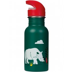"Gourde ""Splish Splash Steel Bottle, Rhino Ramble"""