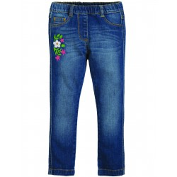 "Pantalon ""Julie Jegging, Mid Wash Denim"" - coton bio"