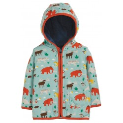 "Sweat ""Reversible Snuggle Jacket, Prehistoric Pals"" - coton bio"