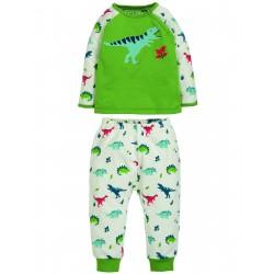"Pyjama ""Stargaze PJs, Meadow / Dino"" - coton bio"