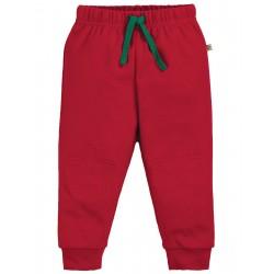 "Pantalon bébé ""Kneepatch Crawlers, Tango Red"" - coton bio"