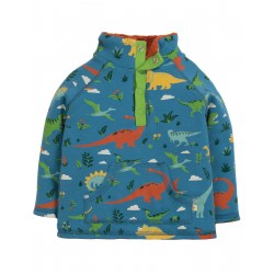 "Sweat ""Snuggle Fleece, Jurassic Lands"" - coton bio"