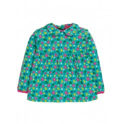 "Blouse bébé ""Bluebird Printed Top, Ditsy Floral"" - coton bio"