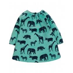 "Robe ""Vanessa Velour Dress, Savannah"" - coton bio"