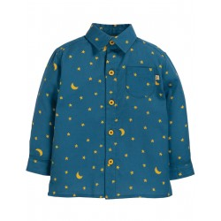 "Chemise enfant ""North Star Shirt, Moonlight"" - coton bio"