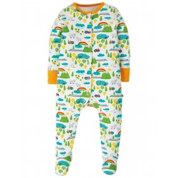 """Pyjama bébé """"Lovely Babygrow, Land Of The Rising Sun"""" - coton bio"""