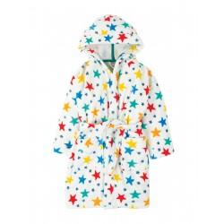 """Peignoir enfant """"Toasty Towelling Robe, Multi Star"""" - coton bio"""