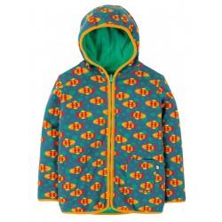 "Sweat bébé réversible ""Reversible Snuggle Jacket, Koi Joy"" - coton bio"