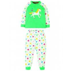 "Pyjama ""Ace PJs, Pacific Aqua / Unicorn"" - coton bio"