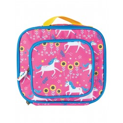"Lunch Bag ""Pack a Snack, Flamingo Unicorn Skates"" - polyester recyclé"