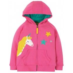 "Sweat ""Harley Hoody, Flamingo / Unicorn"" - coton bio"