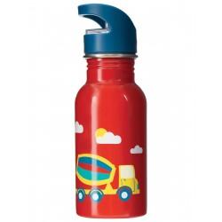 "Gourde ""Splish Splash Steel Bottle, Koi Red / Digger"""