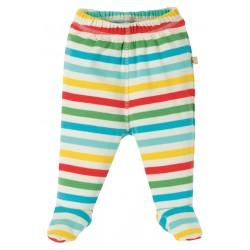 "Pantalon bébé ""Poppet Pull Ups, My First Frugi Multistripe"" - coton bio"