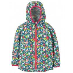 """Veste de pluie """"Rain or Shine Jacket, Rabbit Fields"""" - polyester recyclé"""