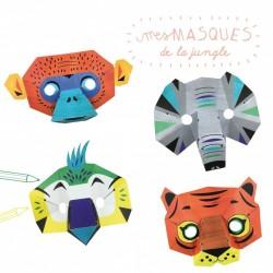 "Kit créatif ""Masques de la jungle"""