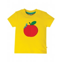 "T-shirt bébé ""Playdate Tee, Sunflower / Apple"" - coton bio"