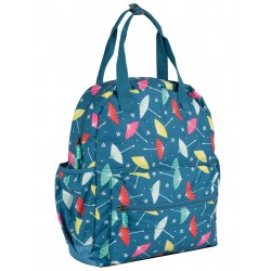 "Sac à langer ""Out and About Changing Back Pack, Multi Parasols"" - polyester recyclé"