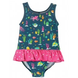 "Maillot ""Little Coral Swimsuit, Rainbow Reef"""